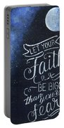 Faith Be Bigger Portable Battery Charger