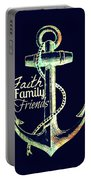 Faith Family Friends Anchor V2 Portable Battery Charger