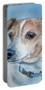 Beloved Dog Commission By Irina Sztukowski  Portable Battery Charger