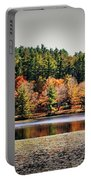 Fall At Bass Lake Portable Battery Charger