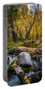 Fall At Mcgee Creek Portable Battery Charger