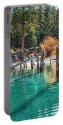 Fall At Skunk Harbor Lake Tahoe Portable Battery Charger