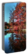 Fall At The Crosspointe Lake Portable Battery Charger