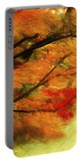 Fall At The Temple Portable Battery Charger