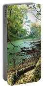 Fall By A River Portable Battery Charger