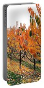 Fall Cherry Orchard Portable Battery Charger