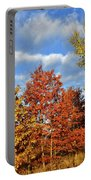 Fall Color Comes To Oak Trees Along Route 31 Portable Battery Charger
