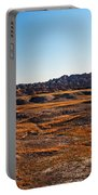 Fall Color In The Badlands Portable Battery Charger