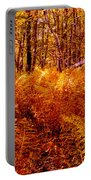 Fall Color In The Woods Portable Battery Charger