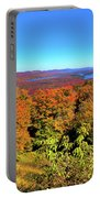 Fall Color On The Fulton Chain Of Lakes Portable Battery Charger
