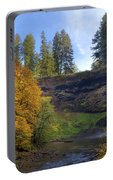Fall Colors At South Falls Portable Battery Charger
