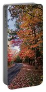 Fall Colors Backroad Portable Battery Charger