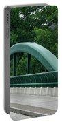 Fall Creek Gorge Bridge Cornell University Ithaca New York Portable Battery Charger