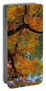 Fall Day At The Lake Portable Battery Charger