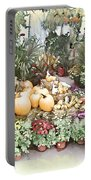 Fall Decorating At The Market Portable Battery Charger