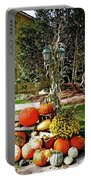 Fall Display Portable Battery Charger
