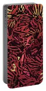 Fall Fantasy Flowers Portable Battery Charger