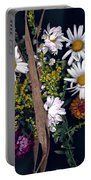 Fall Floral Collage Portable Battery Charger