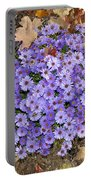 Fall Flowers Portable Battery Charger