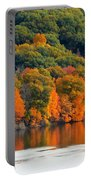 Fall Foliage In Hudson River 14 Portable Battery Charger