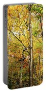 Fall Foliage On The Hike Up Mount Monadnock New Hampshire Portable Battery Charger