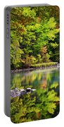 Fall Foliage Reflection Portable Battery Charger