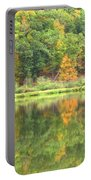 Fall Forest Reflection Portable Battery Charger