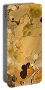 Fall Frolic Portable Battery Charger