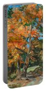 Fall Glory Portable Battery Charger