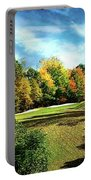 Fall Golf Course Beauty Portable Battery Charger
