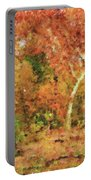 Fall Impression Portable Battery Charger