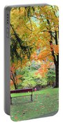 Fall In Brown County Portable Battery Charger