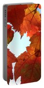 Fall In Love With Autum Portable Battery Charger