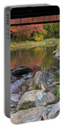 Fall In New Enlgand  Portable Battery Charger