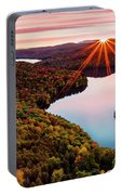 Fall In Northern Vermont Portable Battery Charger
