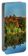 Fall In Northern Wisconsin Portable Battery Charger