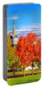 Fall In The Country Portable Battery Charger