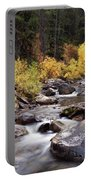 Fall In The Grand Tetons Portable Battery Charger