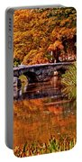 Fall In The Japanese Gardens Portable Battery Charger