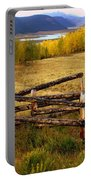 Fall In The Rockies 2 Portable Battery Charger