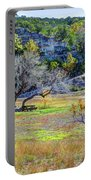 Fall In The Texas Hill Country Portable Battery Charger