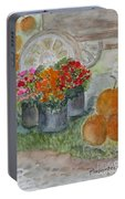 Fall In Vermont Portable Battery Charger