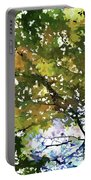 Fall In Woods Portable Battery Charger