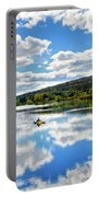 Fall Kayaking Reflection Landscape Portable Battery Charger