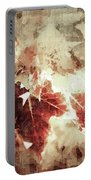 Fall Leaves Portable Battery Charger