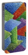 Fall Leaves On Grass Portable Battery Charger by Sean Corcoran