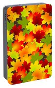 Fall Leaves Quilt Portable Battery Charger