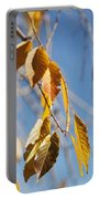Fall Leaves Study 3 Portable Battery Charger
