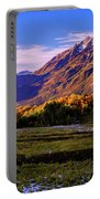 Fall Meadow Portable Battery Charger