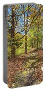 Fall Morning Portable Battery Charger